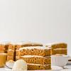Carrot & Mustard Cake with Mustard & Fennel Ice-Cream