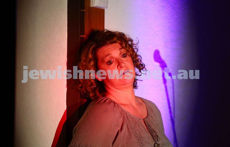 18-6-16. Balaganeyden - a Polish Yiddish Cabaret night. Kadimah Hall. Photo : Peter Haskin