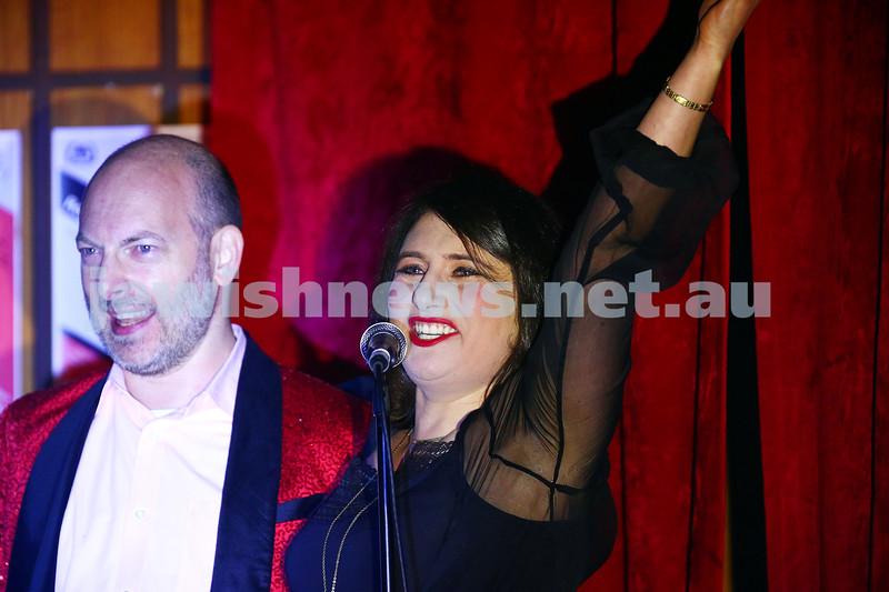 18-6-16. Balaganeyden - a Polish Yiddish Cabaret night. Kadimah Hall. Photo : Peter Haskin