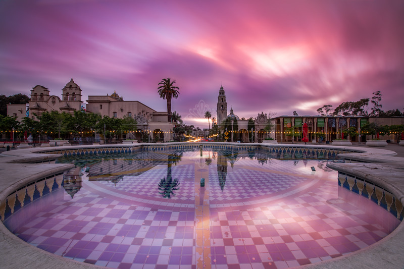 """Park Reflections"" - Balboa Park Landscape Photography"