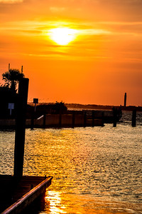 BHI Sunset at the Marina