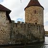 Hallwyl castle, N-E tower, Aargau