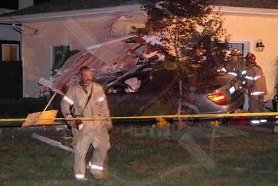 Baldwin F.D. MVA Car Into a House 3275 Bay Front Drive 8/27/10