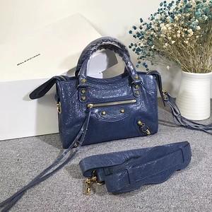 Balenciaga mini city 23cm blue