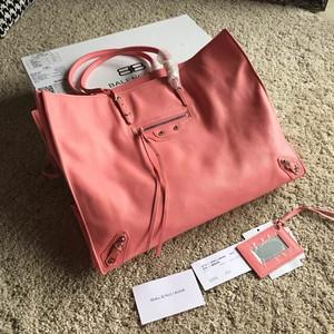 Balenciaga B- papier 40cm pink