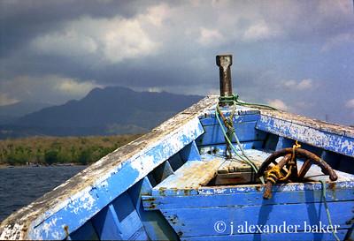 Dive Boat, Menjangan, Bali