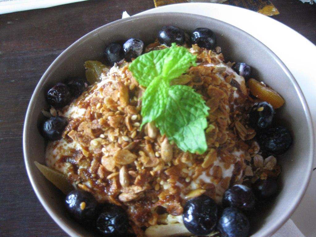Myra's granola @ Cafe Batujimbar  (Myra's set)