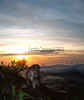 First light @ Mt Abang, Bali
