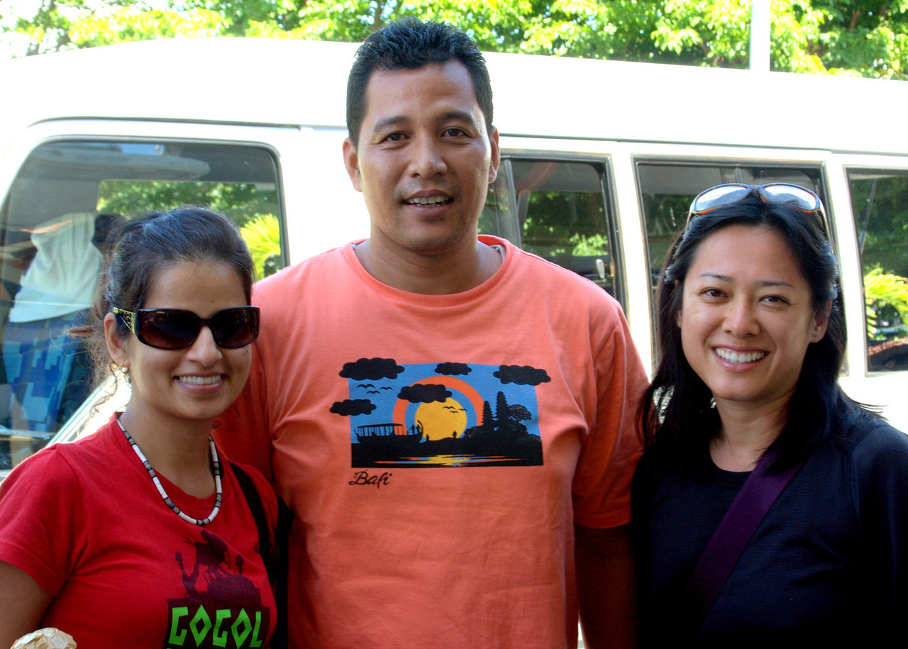 With our friendly Balinese driver