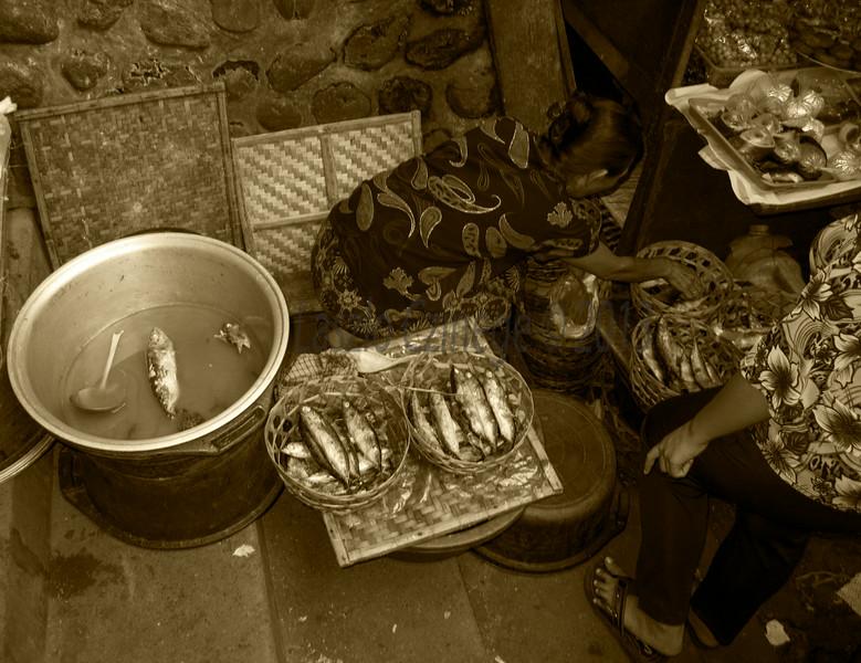 Dried Fish Vendor