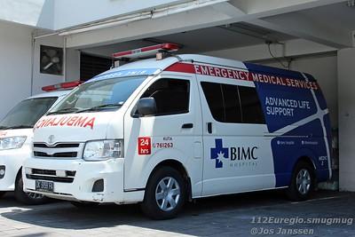 Ambulances op Bali