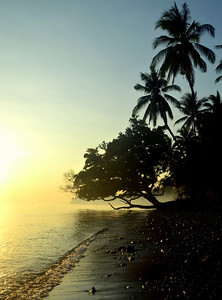 Sunrise at Tejakula, Bali, Indonesia.