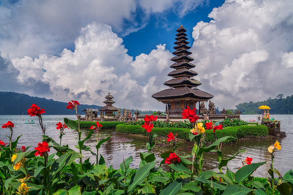 Vibrant beauty of Bali