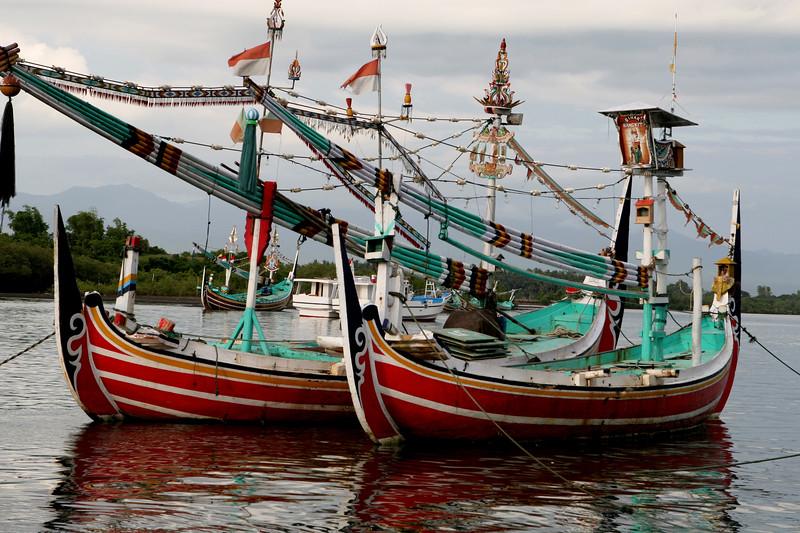 Fishing Vessel, Perancak River, Negara, Bali