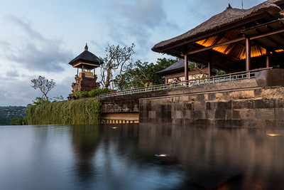 View of the Shrine at Mandapa - a Ritz-Carlton Reserve.