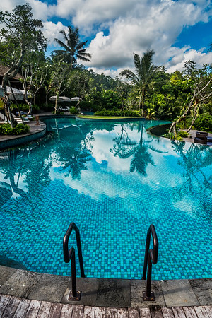 The pool at Mandapa - a Ritz-Carlton Reserve.