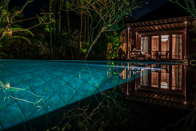 Pool villa at Mandapa - a Ritz-Carlton Reserve.