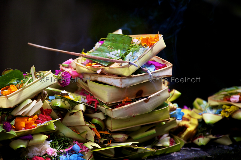 Piles of Prayers - Bali, Indonesia