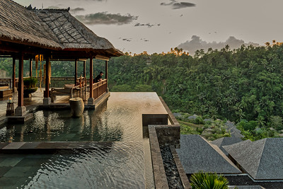 Admiring uBud's beautiful nature at Mandapa Reserve.