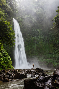 Nungnung Waterfall.