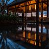 Reflection at Manadapa Reserve Lobby.