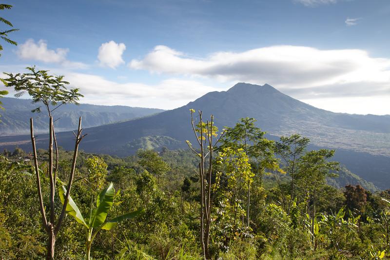 Mt en Lake Batur
