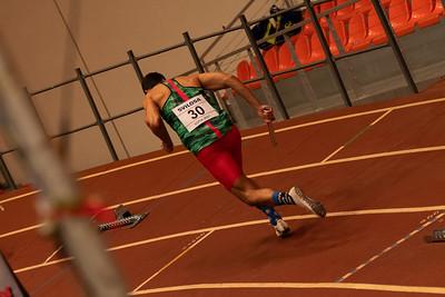 4x400m relay, men