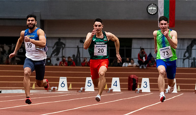 60m Running, Men