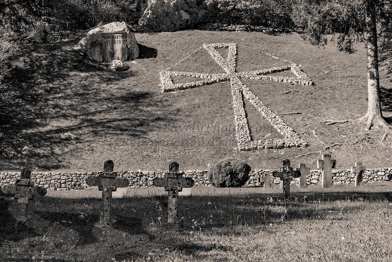 World War I Cemetery, by Julian Alps, Slovenia