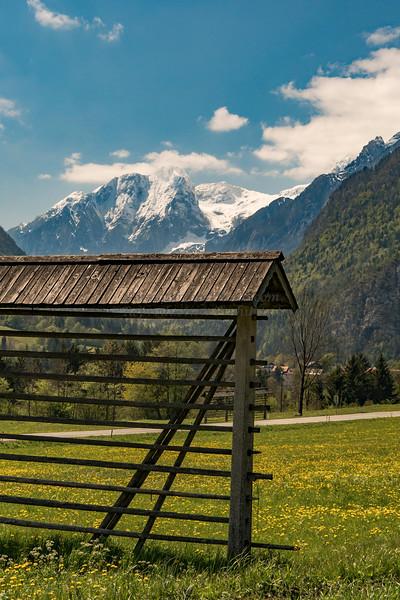 Hayrick, Julian Alps, Slovenia