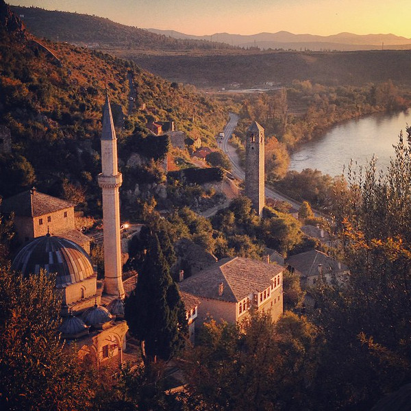 Late afternoon autumn light, hiking the cobbles of the medieval town of Počitelj, Bosnia and Herzegovina. One of those places that begs you to stand still and listen to the wind, as you ease into meditating on life just a little bit. via Instagram http://ift.tt/1uwIt3O