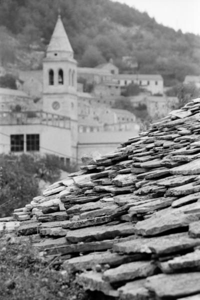 Stone Rooftops - Korcula, Croatia