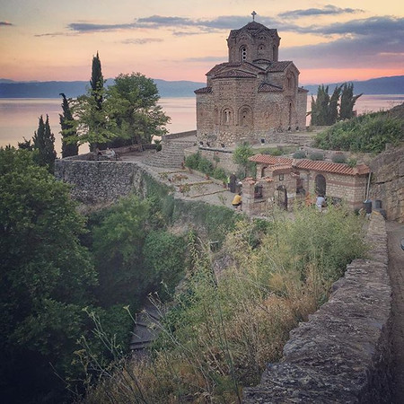 Church of St. John at Kaneo - Lake Ohrid, Macedonia