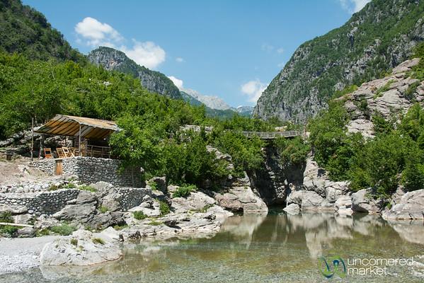 Coffee Break Near the Blue Hole - Nderlysa, Albania