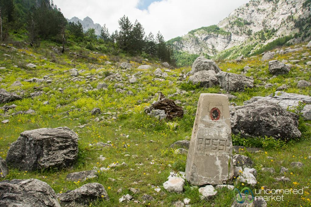 Remote Border Crossing, Montenegro into Albania - Peaks of the Balkans