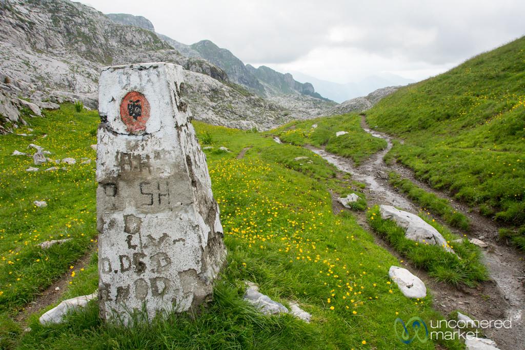 Remote Border Crossing, Albania and Montenegro - Peaks of the Balkans