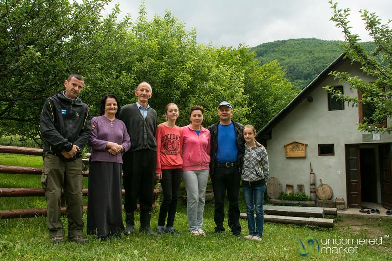 Home Stay Family in Drelaj, Kosovo - Peaks of the Balkans