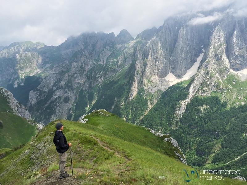 Dan Takes in the Karanfil Mountains - Albania