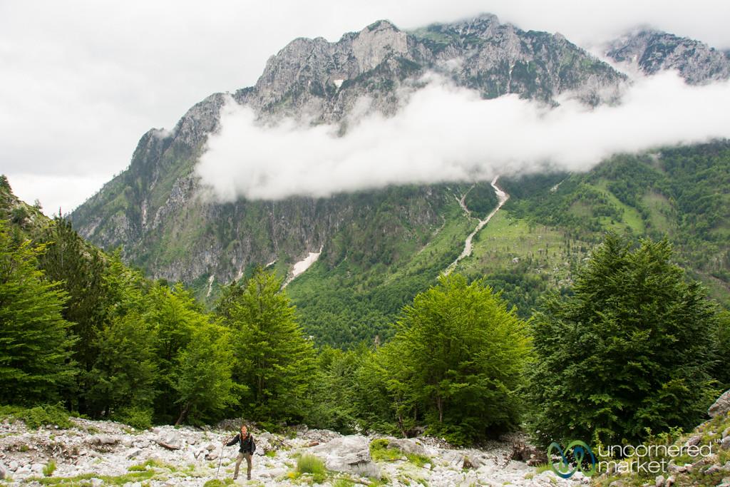 Climbing up from Valbona, Albania - Peaks of the Balkans