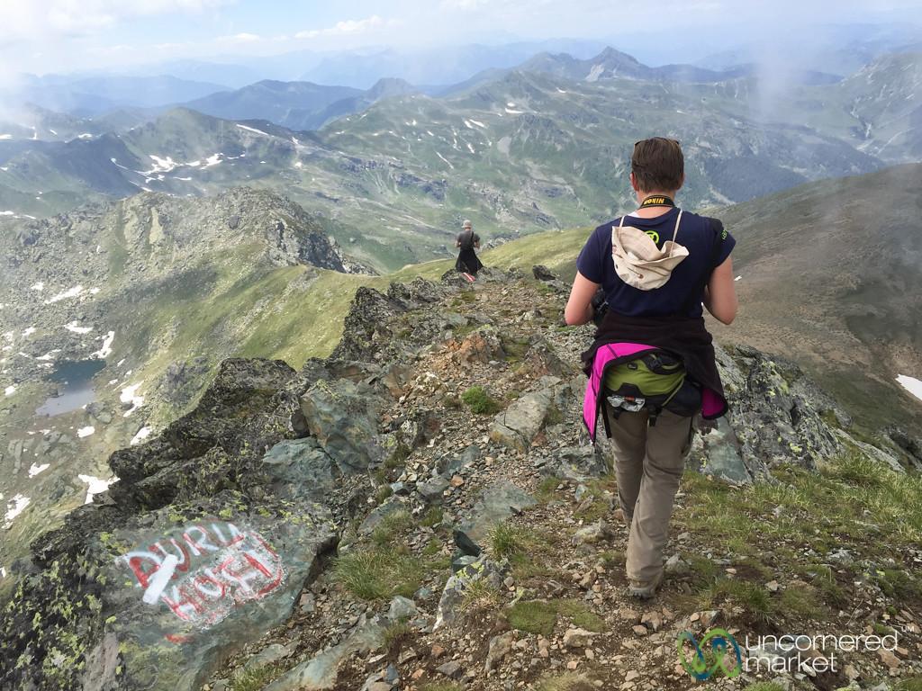 Descent from Mt. Gjeravica, Kosovo