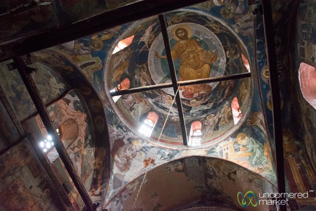 Impressive Paintings at the Patriarchate of Peć - Peja, Kosovo