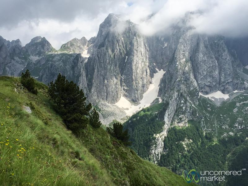 Dramatic Peaks of the Karanfil Mountains, Albania