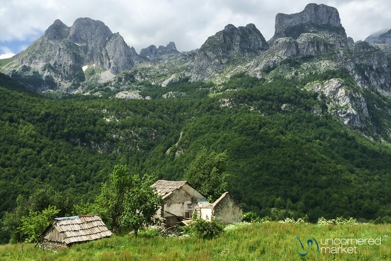 Abandoned Farm House Near Cerem, Albania