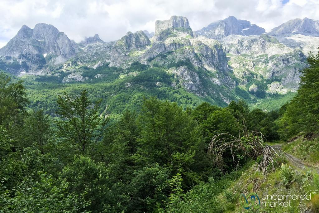 Mountain Views - Cerem to Doberdol, Albania