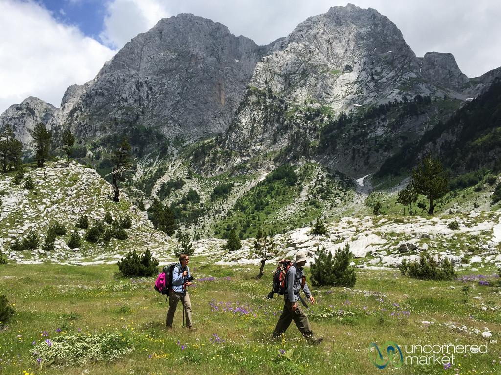 Peaks of the Balkans Trekking, Vusanje to Theth