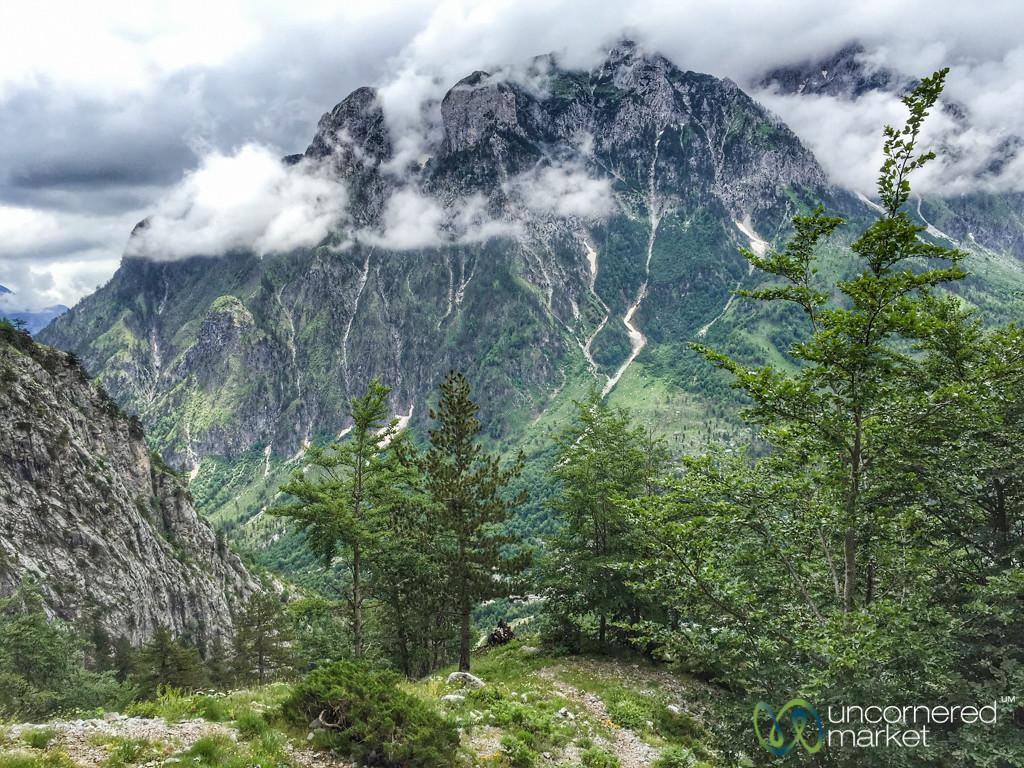 Mountain Vistas near Valbona, Albania