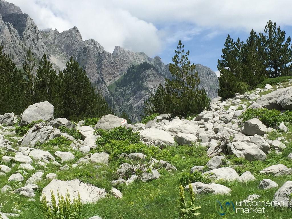 Peaks of the Balkans Trail, Vusanje to Theth