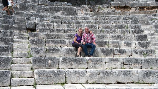 Irene & John - Butrint Ruins