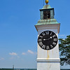 The clock tower at Petrovaradin Fortress
