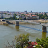 The view of Novi Sad from the Fortress